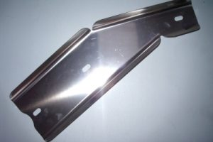 Materiale AISI 304 BA Piegato