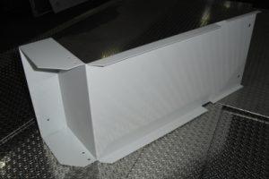 Materiale S235JR Piegato, Verniciato a polvere