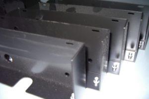Materiale S235JR Piegato, Saldato, Montato, Zincato