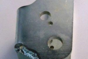 Materiale S355J0 sp. 80/10 Piegato Saldato Zincato