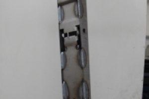 Materiale S355JR Stampato, Saldato.
