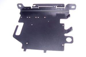 Materiale alluminio 40/10 anodizzato nero
