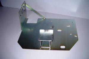 Mat. S235JR saldato MIG tratt. zincatura elettrolitica